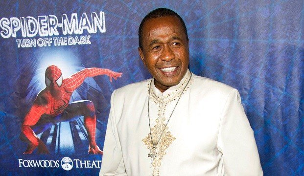"Ben Vereen arrives at the opening night performance of the Broadway musical ""Spider-Man Turn Off the Dark"" in New York."
