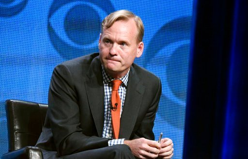 n this Aug. 10, 2015 file photo, Political Director for CBS News, John Dickerson, participates in the CBS News panel at the CBS Summer TCA Tour in Beverly Hills, Calif.