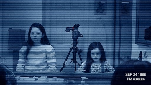 """In this image released by Paramount Pictures, a scene is shown from the film """"Paranormal Activity 3."""" (AP Photo/Paramount Pictures)"""