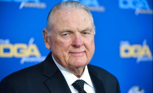Keith Jackson arrives at 66th Annual DGA Awards Dinner at the Hyatt Regency Century Plaza Hotel in Los Angeles.