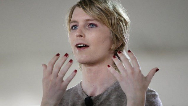 Chelsea Manning speaks during the Nantucket Project's annual gathering in Nantucket, Mass.