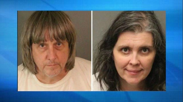 David and Louise Turpin, each jailed on $13 million bail.