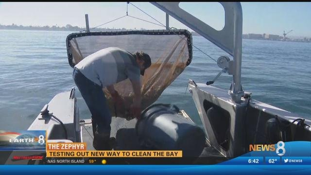 The Zephyr: Testing out new way to clean the bay