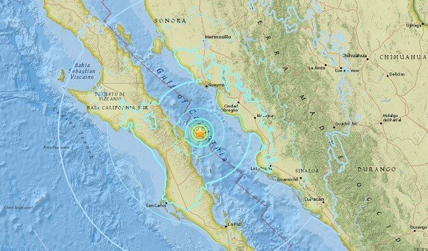 6.3-magnitude earthquake shakes Mexico's Gulf of California