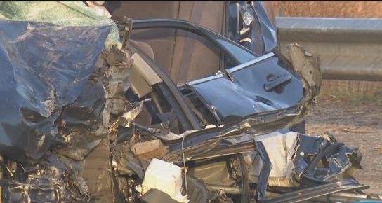 2 hospitalized after head-on crash near Safari Park