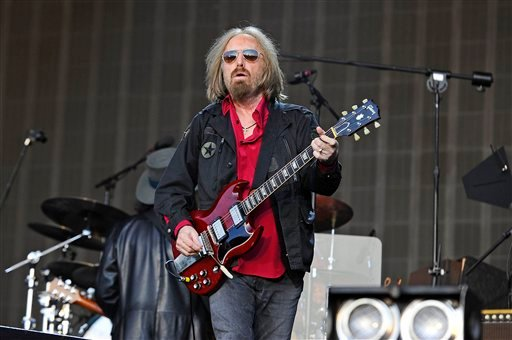 Tom Petty and The Heartbreakers at British Summertime, Hyde Park, in London, England.