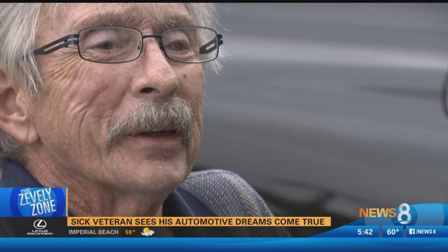 Zevely Zone: Sick veteran sees his automotive dreams come true