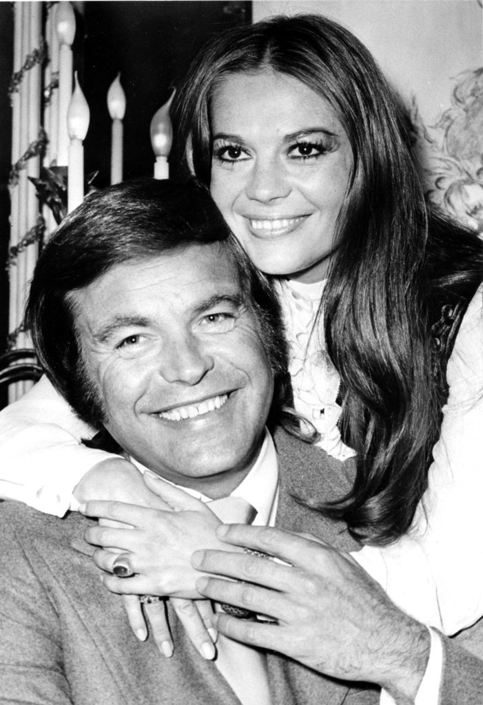 In this April 23, 1972 file photo, actor Robert Wagner and his former wife, actress Natalie Wood, pose at the Dorchester Hotel in London, England. (AP File Photo)
