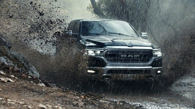 Ram Truck Brand shows a scene from the company's Super Bowl spot.
