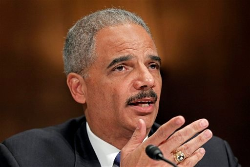 Attorney General Eric Holder testifies on Capitol Hill in Washington, Tuesday, Nov. 8, 2011, before the Senate Judiciary Committee hearing in the arms trafficking investigation called Operation Fast and Furious.