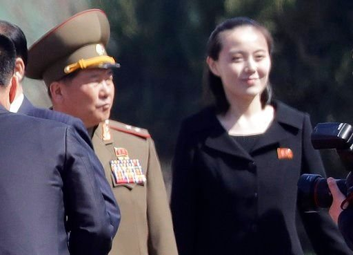 NK first lady, top military, party grandees attend military parade