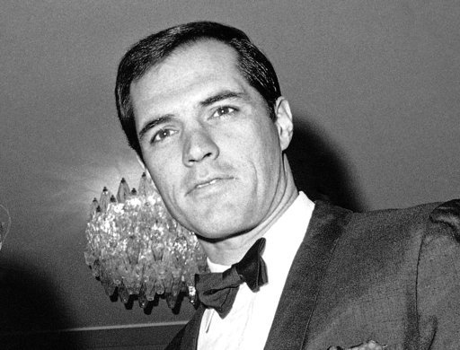 "FILE - In this Nov. 20, 1967 file photo, John Gavin appears for a performance of Giuseppe Verdi's ""Il Trovatore,"" in Rome. Gavin died Friday, Feb. 9, 2017, according to manager Budd Burton Moss, who represents Gavin's wife, actress Constance Towers. He wa"