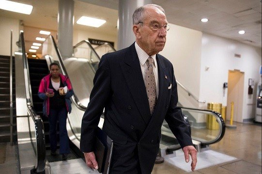 Senate Judiciary Committee Chairman Chuck Grassley, R-Iowa.