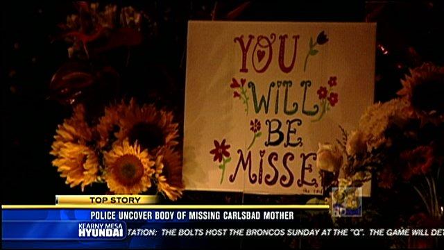 Video screen image: Memorial held Saturday, November 26, 2011 for Kathleen Cary Scharbarth.