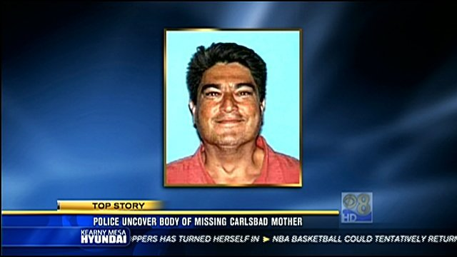 On Friday, November 25, 2011, police arrested Scharbarth's 43-year-old boyfriend, Michael David Robles of Fallbrook, for investigation of kidnapping and murder.