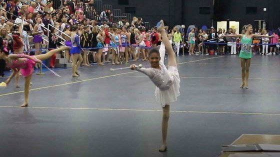 Baton twirler from Escondido prepares for competition in Norway