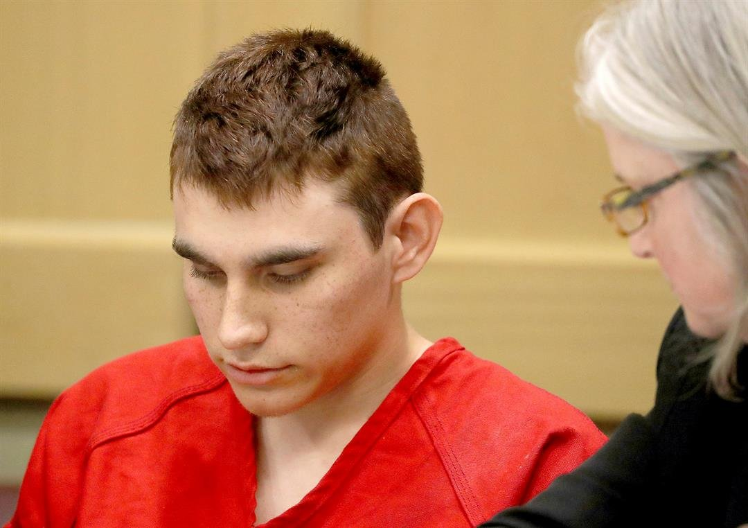FILE - Nikolas Cruz was formally charged Wednesday, March 7, with 17 counts of first-degree murder, which could mean a death sentence if he is convicted. (Mike Stocker/South Florida Sun-Sentinel via AP, Pool, File)