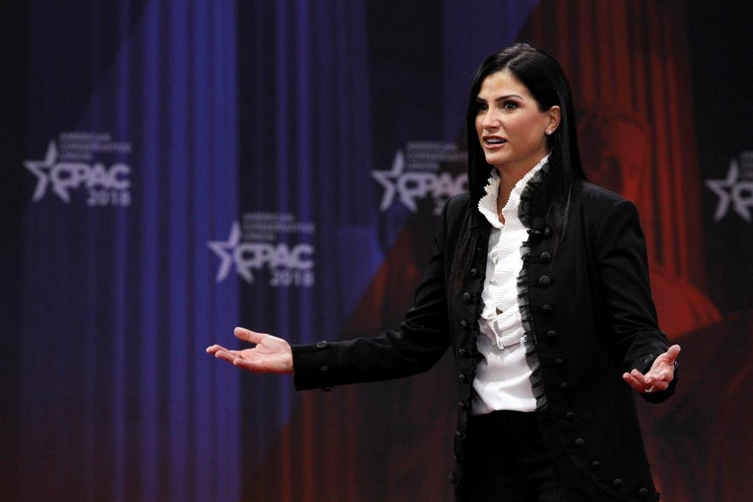 Dana Loesch, spokesperson for the National Rifle Association, speaks at the Conservative Political Action Conference (CPAC), at National Harbor, Md., Thursday, Feb. 22, 2018. (AP Photo/Jacquelyn Martin)