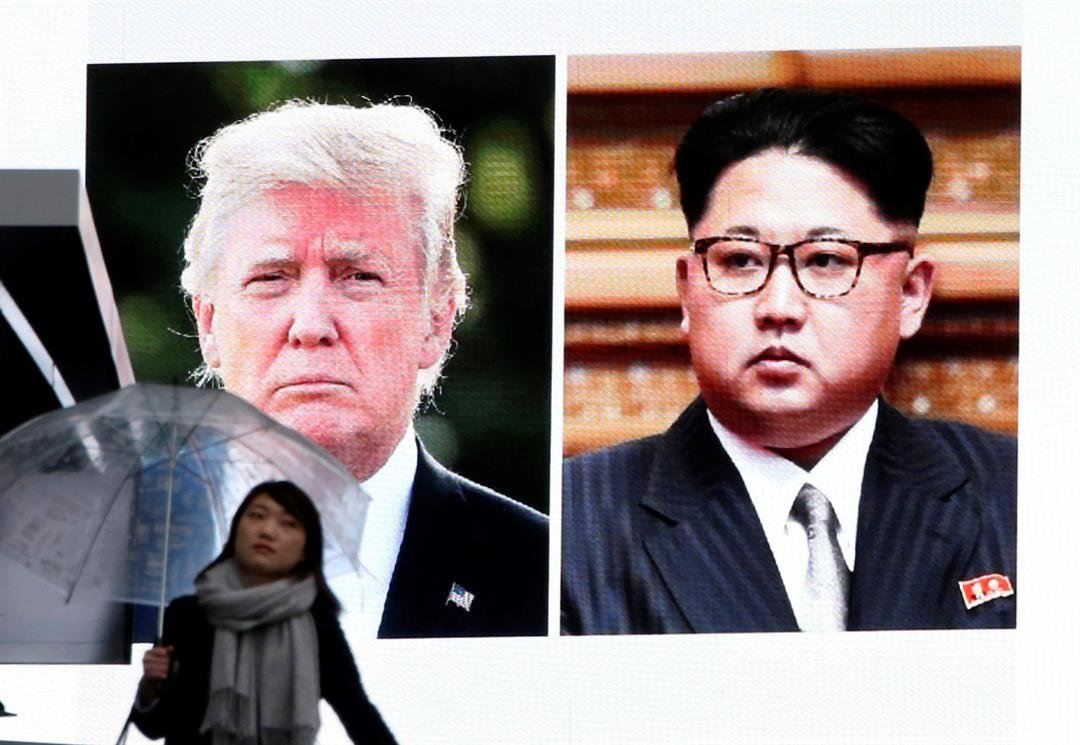U.S. President Donald Trump and third-generation North Korean dictator Kim Jong Un have agreed to meet face-to-face for talks about the North's nuclear program.(AP Photo/Koji Sasahara)