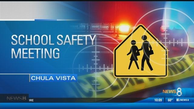 School Shootings: Police and parents meet in Chula Vista