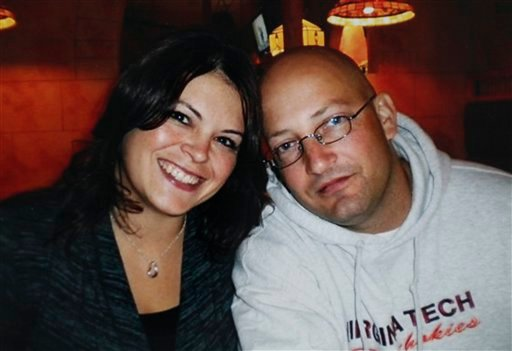 A 2009 photograph provided by the family shows Tina Crouse and Deriek Crouse. (AP)