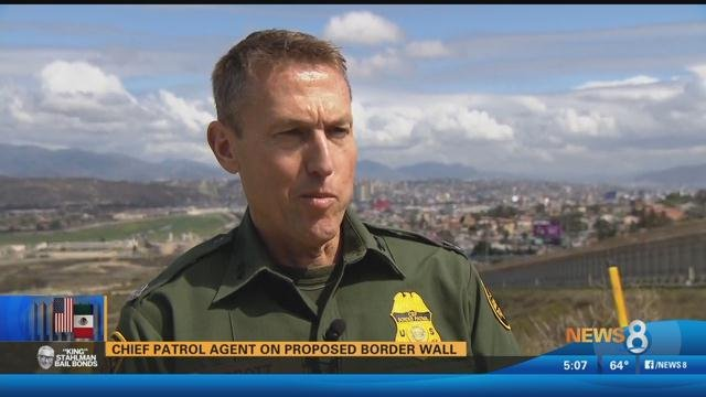 Chief patrol agent on proposed border wall