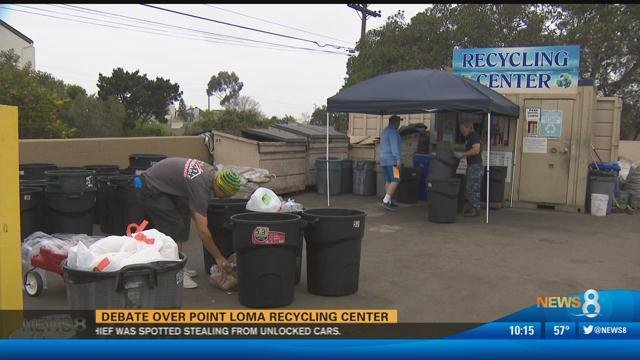 Prince Recycling: Debate over Point Loma recycling center