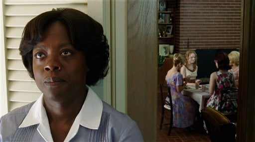 """In this film publicity image released by Disney, Viola Davis is shown in a scene from """"The Help."""" (AP Photo/Disney, Dale Robinette)"""