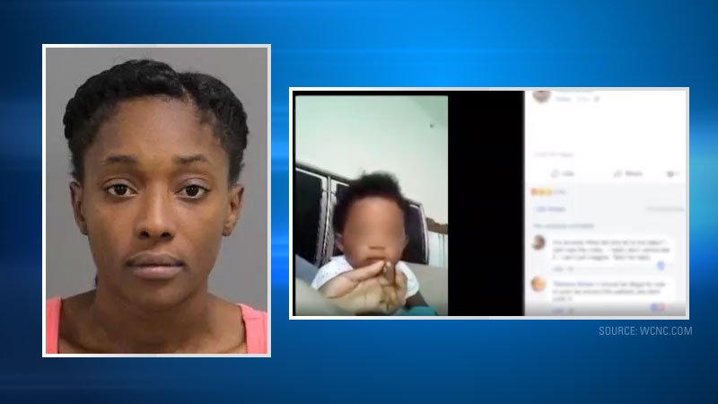 Brianna Ashanti Lofton, 20, was charged with marijuana possession and two counts of felony child abuse, according to a police news release.