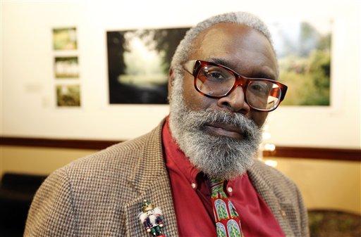Donald Carter poses for a photograph Thursday, Dec. 15, 2011 in Philadelphia. (AP Photo/Alex Brandon)