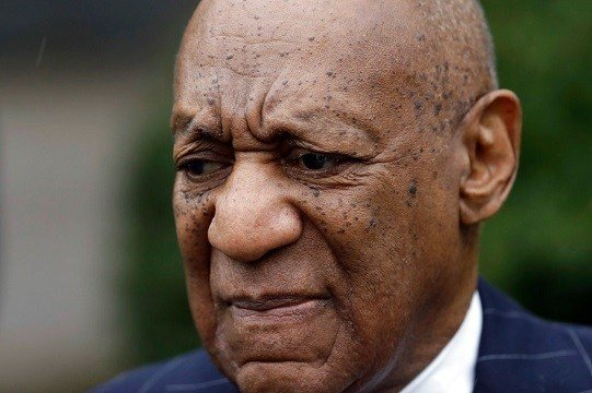 Bill Cosby arrives for a pretrial hearing in his sexual assault case, Thursday, March 29, 2018.