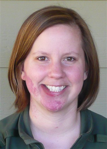 This undated photo provided by Mount Rainier National Park shows park Ranger Margaret Anderson. Anderson, 34, was fatally shot Sunday, Jan. 1, 2012, at Mount Rainier National Park in Washington state, according to the National Park Service. (AP)