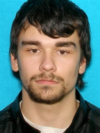 William Francis Blankenship, 22, is seen in an undated photo provided by the Porter County Sheriff's Dept. (AP Photo/Porter County Sheriff's Dept.)