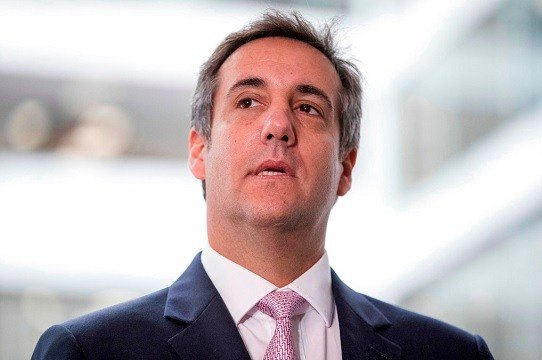 FILE - In this Sept. 19, 2017 file photo, President Donald Trump's personal attorney Michael Cohen.