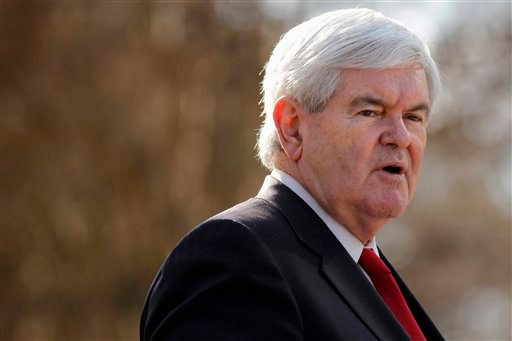Republican presidential candidate former, House Speaker Newt Gingrich speaks during a rally for home ownership, Thursday, Jan. 12, 2012, at the State Capitol in Columbia, S.C. (AP Photo/Matt Rourke)