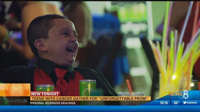 """Teens with cancer gather for """"Unforgettable Prom"""""""