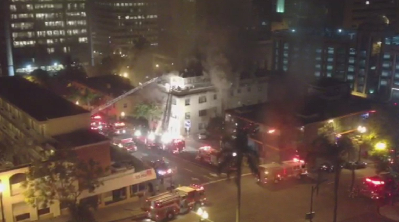 Picture courtesy of Heather Olson; shot from the 7th flr of El Cortez bldg