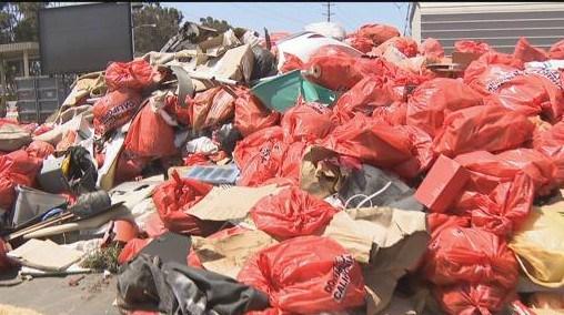 Traffic Trash: Who is dumping garbage on San Diego roads?