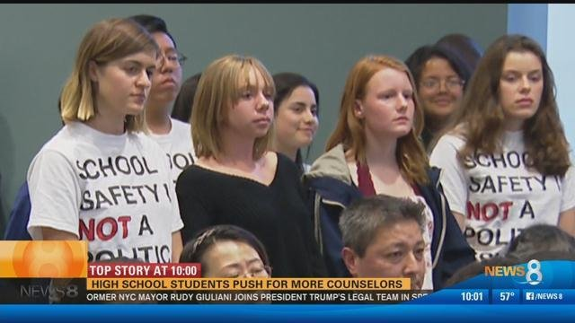 East Tennessee students walk out of class on Columbine anniversary