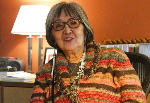 This Jan. 18, 2018, photo shows Sealaska Heritage Institute President Rosita Worl at her office in Juneau, Alaska.