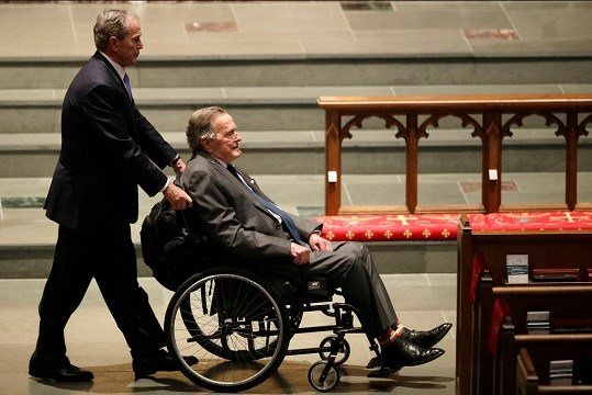 Former US President Bush Sr. out of intensive care unit