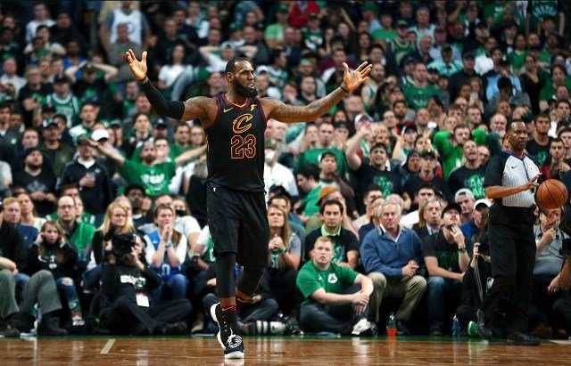 Cavs beat Celtics, reach NBA Finals