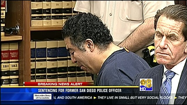 Anthony Arevalos is shown in this video screen grab moments after a judge handed down his sentence Friday, February 10, 2012.