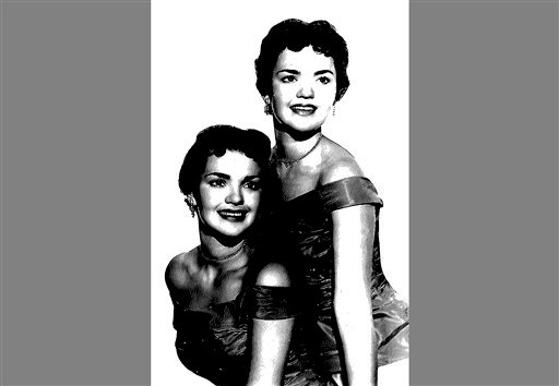 This undated copy of a photo provided by the El Dorado County Sheriff's Office shows twin sisters Patricia and Joan Miller. It us unknown which sister is which. (AP Photo/El Dorado County Sheriffs)