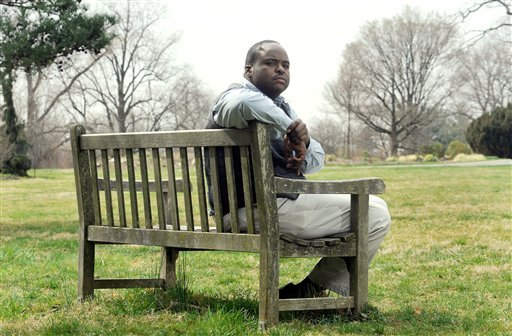 Robert Collins of Baltimore poses for a photo Friday, March 16, 2012 at Cylburn Arboretum in Baltimore. (AP)