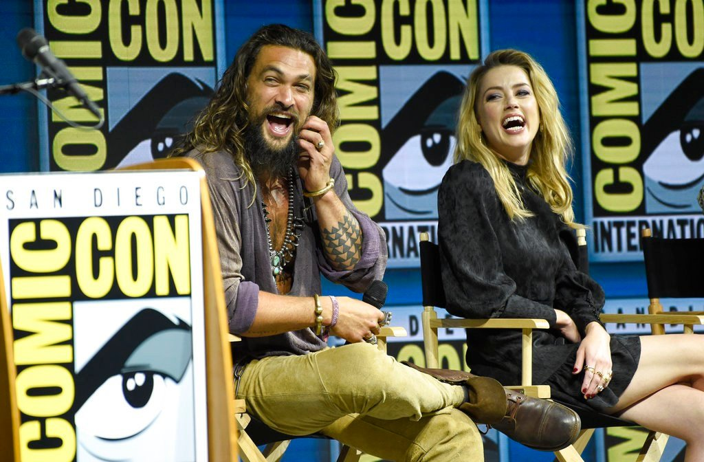 Epic first Aquaman trailer makes a splash at Comic-Con 2018