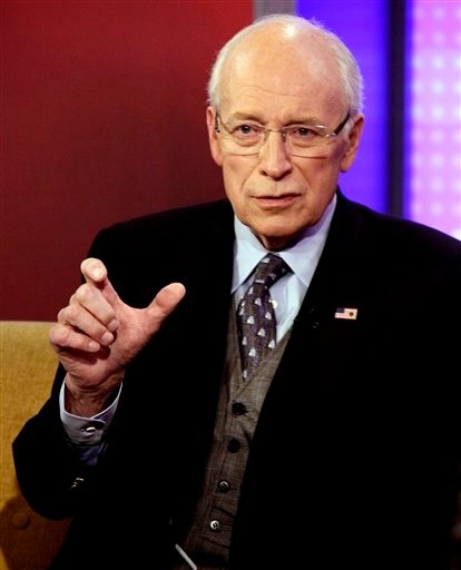 In this Aug. 31, 2011 file photo, former Vice President Dick Cheney is interviewed in New York. Former Vice President Dick Cheney is recovering after having a heart transplant. (AP Photo/Richard Drew, File)