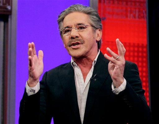 """FILE - In this June 25, 2010 file photo, Fox News Channel commentator Geraldo Rivera speaks on the """"Fox & friends"""" television program in New York."""