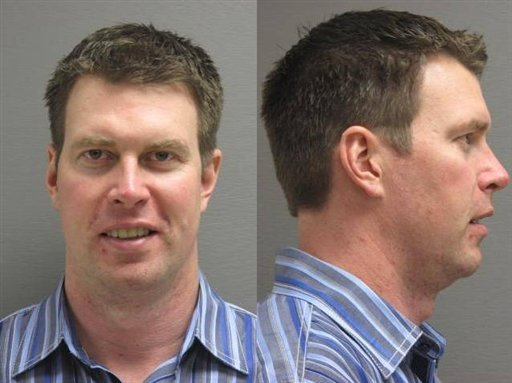 In this booking photo released by the Cascade County (Mont.) Sherrif's Office. Police Dept., former NFL player Ryan Leaf is shown. (AP Photo/Cascade County Sherrif's Office)