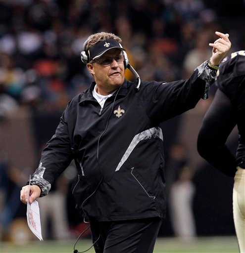 In this Dec. 12, 2010 file photo, New Orleans Saints defensive coordinator Gregg Williams gestures in the second half of an NFL football game aainst the St. Louis Rams, in New Orleans.